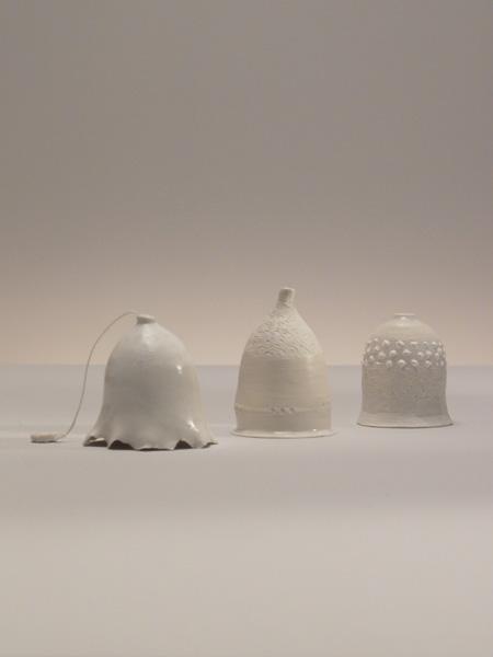 Cloches en porcelaine